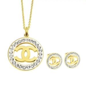Chanel Necklace & Earring Sets